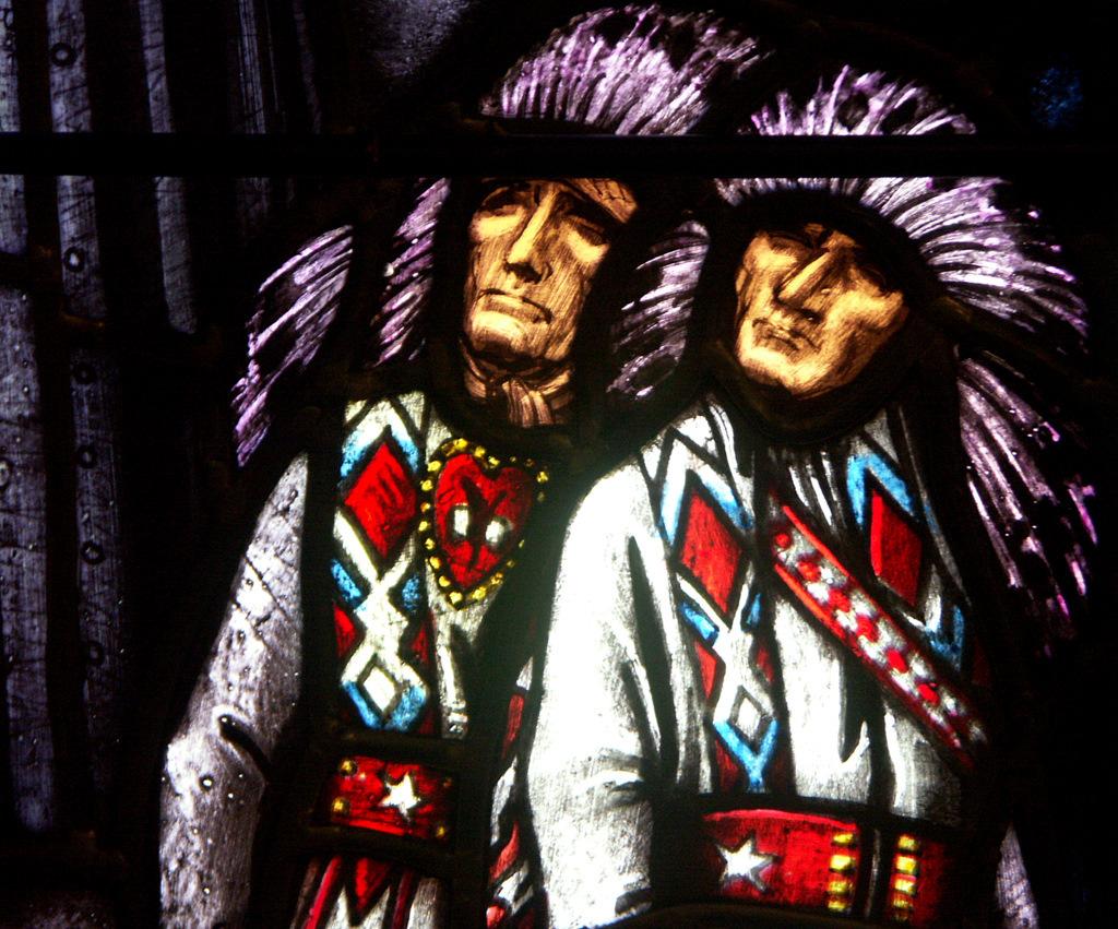 Blackfoot Chiefs. Austrian, c. 1958