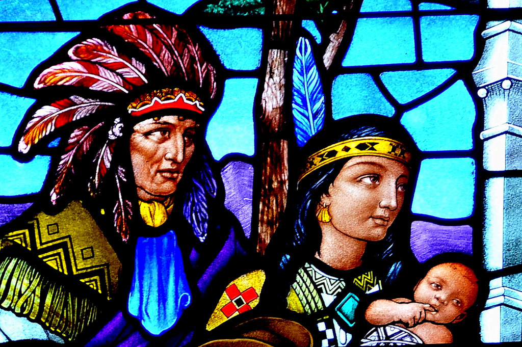 First Nation Couple