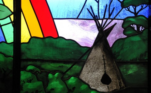 Tipi and Rainbow