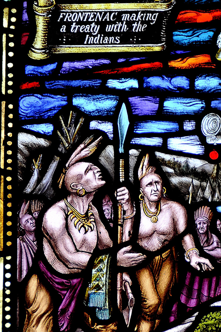 Men with Spears. McCausland. 1927