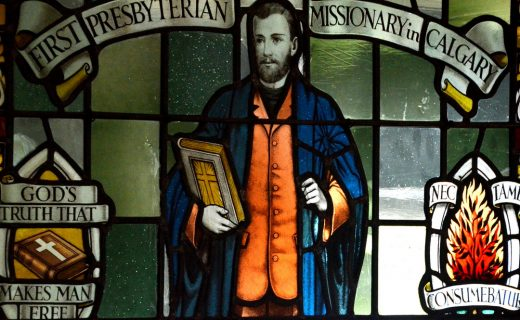 Early Protestant Missionary. Rundle United, Banff AB
