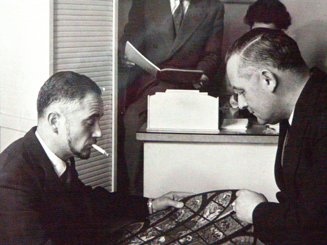 Andre and Paul Rault circa 1955