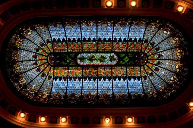 Skylight over Banking Floor