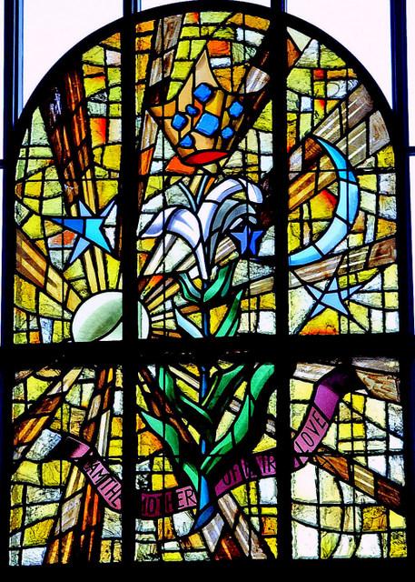 Holy Spirit Dalle de Verre