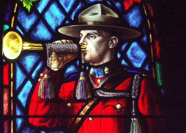 Mournful Mountie, McAusland, 1943.